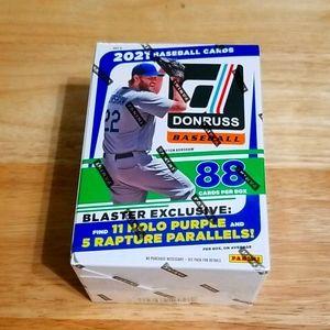 2021 Donruss baseball blaster box- 88 cards